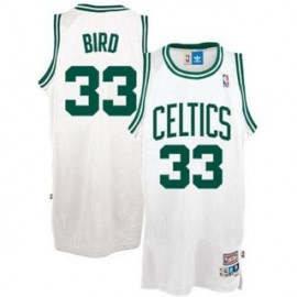 Camiseta Larry Bird #33 Boston Celtics 17/18 Blanco