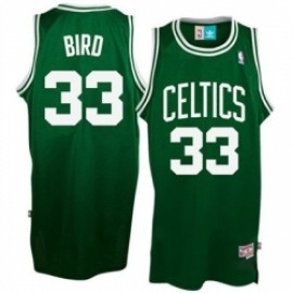 Camiseta Larry Bird #33 Boston Celtics 17/18 Verde