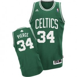 Camiseta Paul Pierce #34 Boston Celtics 17/18 Verde