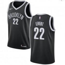 Camiseta Caris LeVert #22 Brooklyn Nets 18/19 Negro Icon Edition