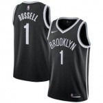 Camiseta D'Angelo Russell #1 Brooklyn Nets 18/19 Negro Icon Edition