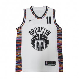 Camiseta Kyrie Irving #11 Brooklyn Nets 20/21 Blanco City Edition