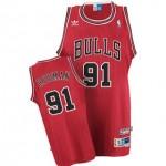 Camiseta Dennis Rodman #91 Chicago Bulls 17/18 Rojo Icon Edition