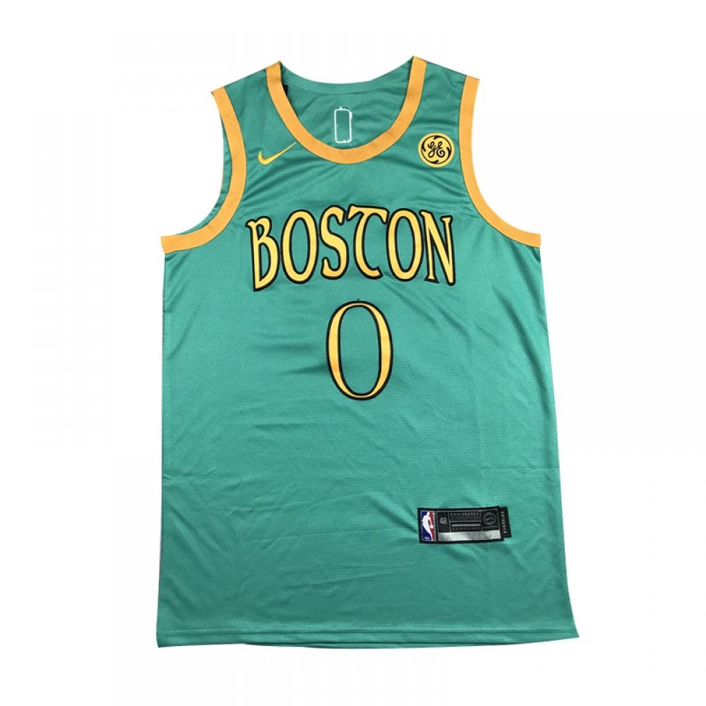 Camiseta Jayson Tatum #0 Boston Celtics 19/20 Verde City Edition