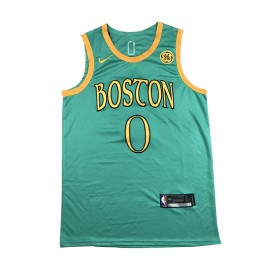 Camiseta Jayson Tatum #0 Boston Celtics 19/20 Verde City Edition