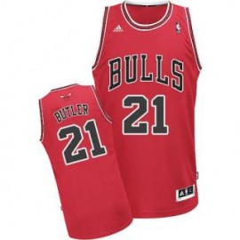 Camiseta Jimmy Butler #21 Chicago Bulls 17/18 Rojo Icon Edition