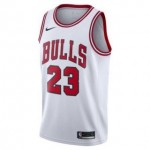 Camiseta Michael Jordan #23 Chicago Bulls 17/18 Blanco