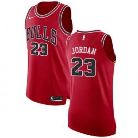 Camiseta Michael Jordan #23 Chicago Bulls 17/18 Rojo Icon Edition