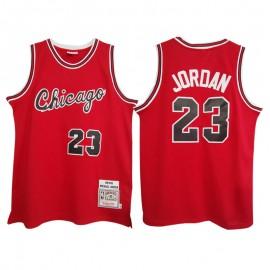 Camiseta Michael Jordan #23 Chicago Bulls 84/85 Rojo Classic Edition