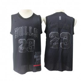 Camiseta Michael Jordan #23 Chicago Bulls 2019 Negro MVP Edition