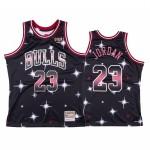 Camiseta Michael Jordan #23 Chicago Bulls Negro Star