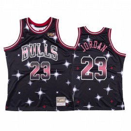 Camiseta Michael Jordan #23 Chicago Bulls Negro Star