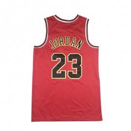 Camiseta Michael Jordan #23 Chicago Bulls Rojo Chinese Edition