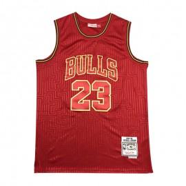 Camiseta Michael Jordan #23 Chicago Bulls Rojo Mouse Limited Edition