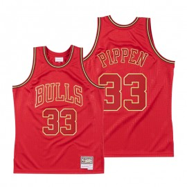 Camiseta Scottie Pippen #33 Chicago Bulls Rojo limited Edition