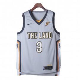 Camiseta Isiah Thomas #3 Cleveland Cavaliers 17/18 Gris City Edition