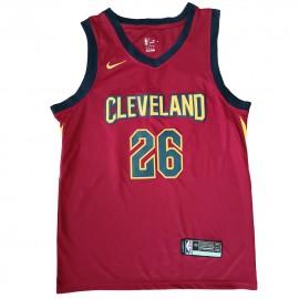 Camiseta Kyle Korver #26 Cleveland Cavaliers 17/18 Rojo