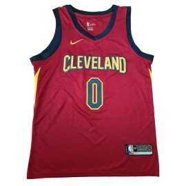 Camiseta Kevin Love #0 Cleveland Cavaliers 17/18 Rojo