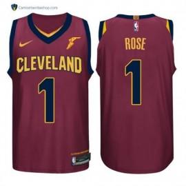 Camiseta Derrick Rose #1 Cleveland Cavaliers 17/18 Rojo
