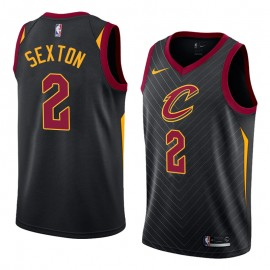Camiseta Collin Sexton #2 Cleveland Cavaliers 17/18 Negro