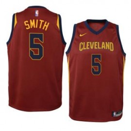 Camiseta  J. R. Smith #5 Cleveland Cavaliers 17/18 Rojo