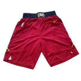 Pantalon Corto Cleveland Cavaliers 17/18 Rojo