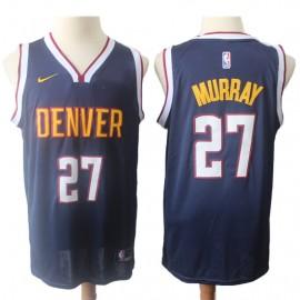 Camiseta Jamal Murray #27 Denver Nuggets 18/19 Azul Marino Icon Edition