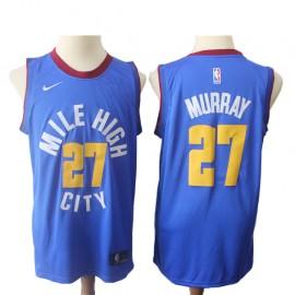 Camiseta Jamal Murray #27 Denver Nuggets 18/19 Azul Statement Edition