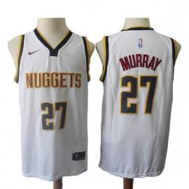 Camiseta Jamal Murray #27 Denver Nuggets 18/19 Blanco Association Edition