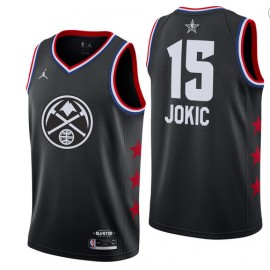 Camiseta Nikola Jokic #15 Denver Nuggets 2019 All Star Negro