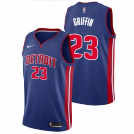 Camiseta Blake Griffin #23 Detroit Pistons 18/19 Azul Icon Edition