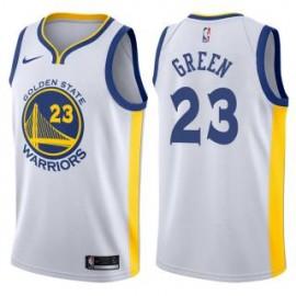 Camiseta Draymond Green #23 Golden State Warriors 17/18 Blanco Association Edition