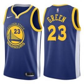 Camiseta Draymond Green #23 Golden State Warriors 17/18 Azul Icon Edition