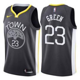 Camiseta Draymond Green #23 Golden State Warriors 18/19 Negro Statement Edition