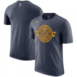 Camiseta Golden State Warriors Negro Sleeve Edition
