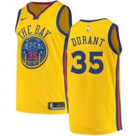 Camiseta Kevin Durant #35 Golden State Warriors 18/19 Amarillo City Edition