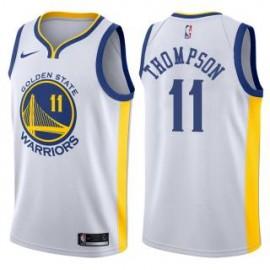 Camiseta Klay Thompson #11 Golden State Warriors 17/18 Blanco Association Edition