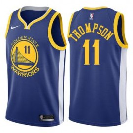 Camiseta Klay Thompson #11 Golden State Warriors 18/19 Azul Icon Edition