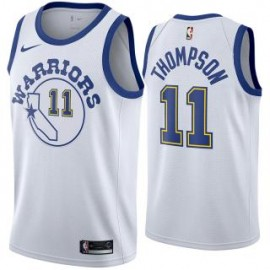 Camiseta Klay Thompson #11 Golden State Warriors 18/19 Blanco Classic Edition