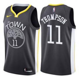 Camiseta Klay Thompson #11 Golden State Warriors 18/19 Negro Statement Edition