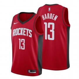 Camiseta James Harden #13 Houston Rockets 19/20 Rojo