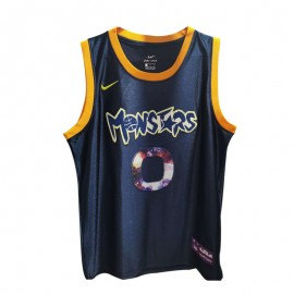 Camiseta #0 Negro Slam Dunk Monstars Edition