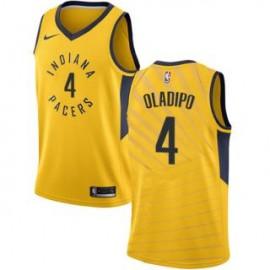 Camiseta Victor Oladipo #4 Indiana Pacers 18/19 Amarillo Statement