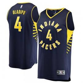 Camiseta Victor Oladipo #4 Indiana Pacers 18/19 Azul Marino Icon