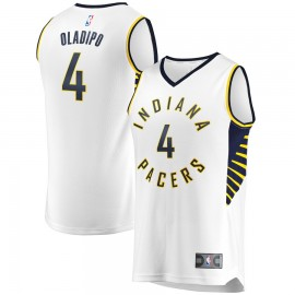 Camiseta Victor Oladipo #4 Indiana Pacers 18/19 Blanco Association