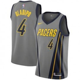 Camiseta Victor Oladipo #4 Indiana Pacers 18/19 Gris City Edition