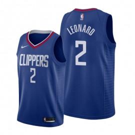 Camiseta Kawhi Leonard #2 Los Angeles Clippers 19/20 Azul Icon