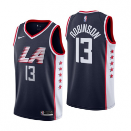 Camiseta Nate Robinson #13 Los Angeles Clippers 18/19 Azul Marino City Edition