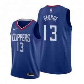 Camiseta Paul George #13 Los Angeles Clippers 19/20 Azul Icon