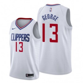 Camiseta Paul George #13 Los Angeles Clippers 19/20 Blanco Association
